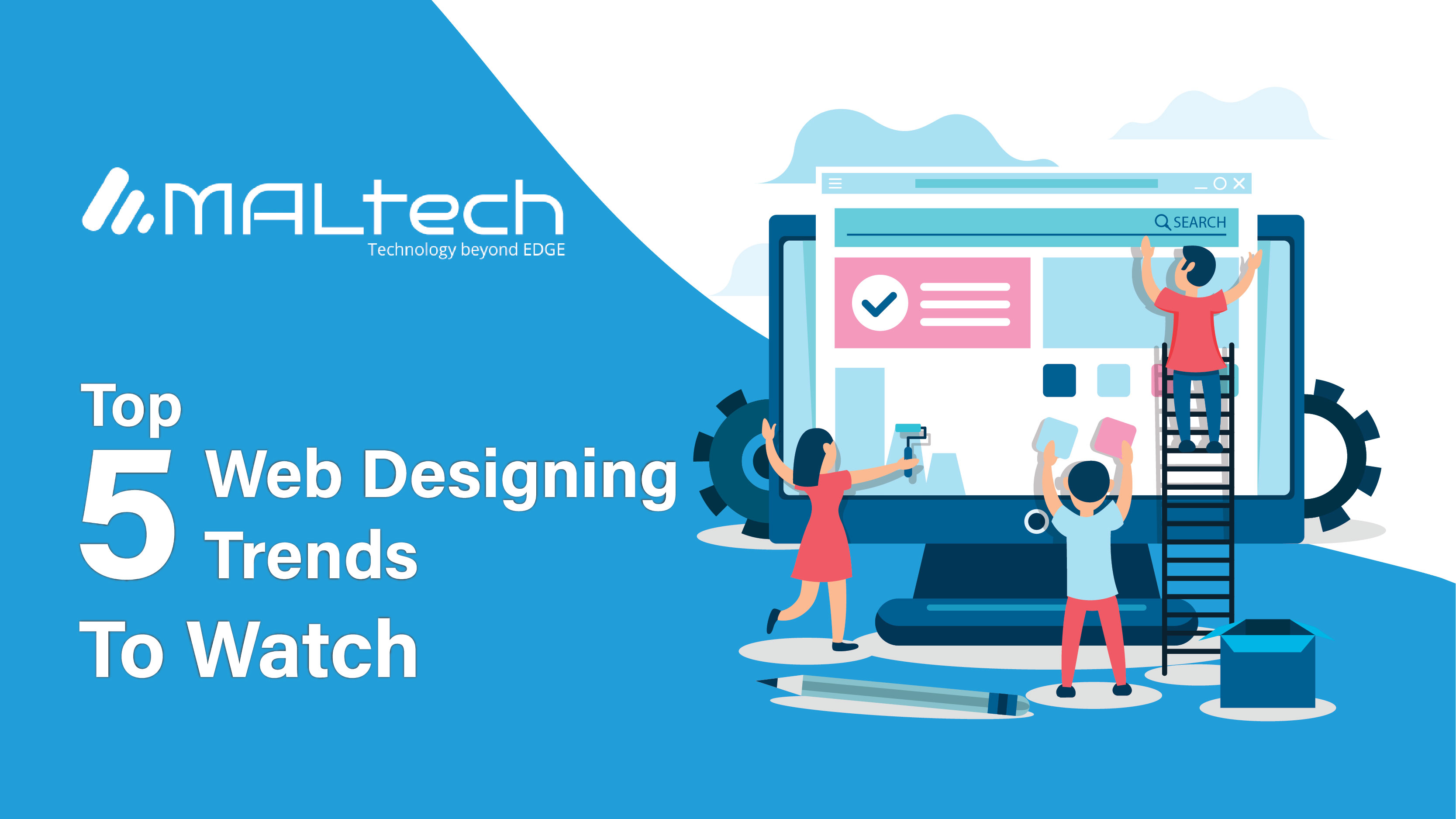 Read more about the article The top 5 Web Design Trends to watch for in 2020